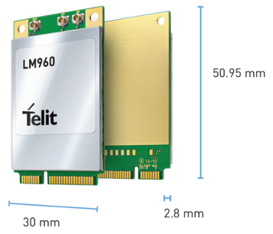 World's Fastest Mobile 1Gbps-class LTE Mini PCIe Card